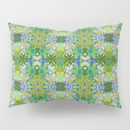 Garden Party - moss and mint Pillow Sham