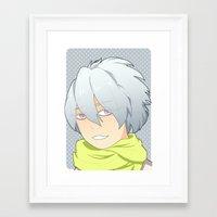 dmmd Framed Art Prints featuring Clear by Liyu
