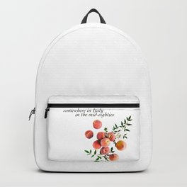 Call Me By Your Name - Inscription Backpack
