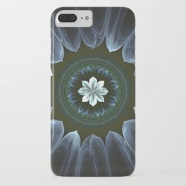 Blossom Within in White iPhone Case