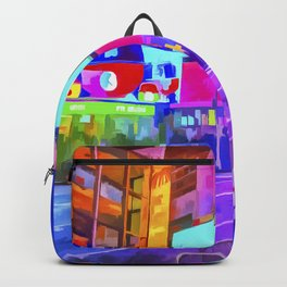 Pop Art Times Square Backpack
