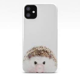 Bubble Gum Hedgehog iPhone Case