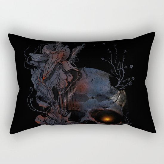 DeathBlooms Rectangular Pillow