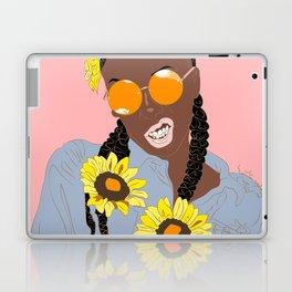 Believe in Yo Juice - Digital Black Goddess Vector Drawing Laptop & iPad Skin