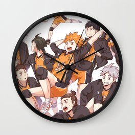 Karasuno Haikyuu Wall Clock