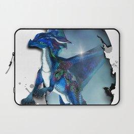 Cute Dragon in blue Laptop Sleeve