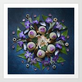Nature Mandala: April II Art Print