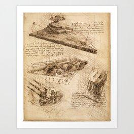 Codex: Star Destroyer Art Print