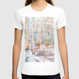 Reflection in the New York City windows II T-shirt