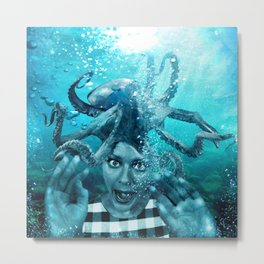 Underwater Nightmare Metal Print