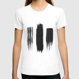 Black lines T-shirt