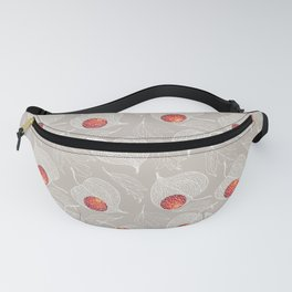 fruits of Physalis covered with frost Fanny Pack