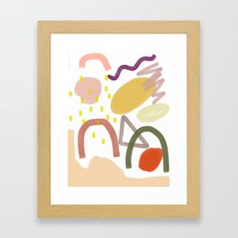Jelly Jelly Bean Framed Art Print