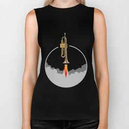 Trumpet Rocket Biker Tank