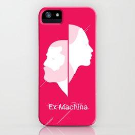 Poster Ex Machina iPhone Case