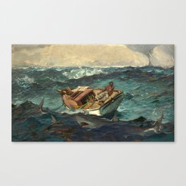 The Gulf Stream by Winslow Homer, 1899 Canvas Print