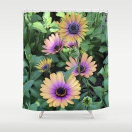 Purple Eye Shower Curtain