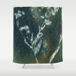 Botanicus (11), Botanical Art Print, Art Print, Botanical Poster, Vintage Print, Home Decor Shower Curtain