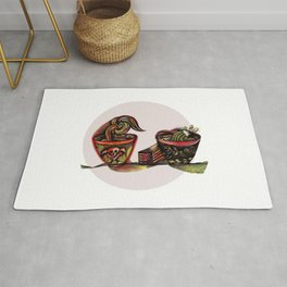 Two Bowls Rug