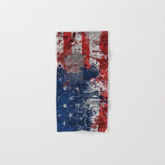 map USA  Hand & Bath Towel