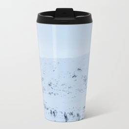Blinded by the Norwegian snow Travel Mug