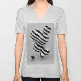 Primitive Stripes Unisex V-Neck