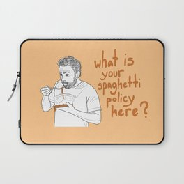 Charlie Kelly - Spaghetti Policy Laptop Sleeve