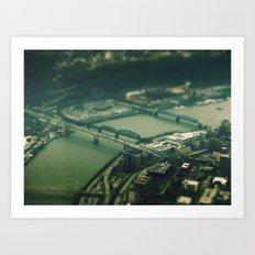 Mini Pittsburgh 2 Art Print