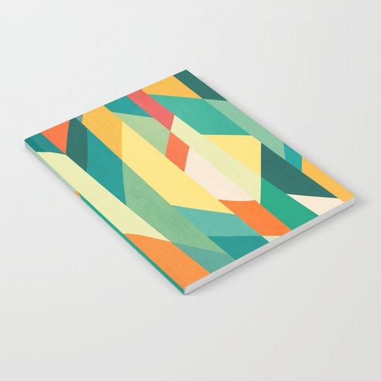 Broken Ocean Notebook