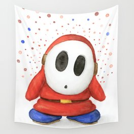 Confused Shy Guy Wall Tapestry