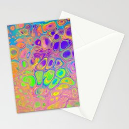 Psychedelic Cells Stationery Cards