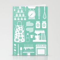 baking Stationery Cards featuring Baking Graphic by Modart Design