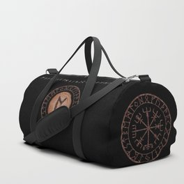 Perthro Elder Futhark Rune of fate and the unmanifest, probability, luck, nothingness, the unborn Duffle Bag