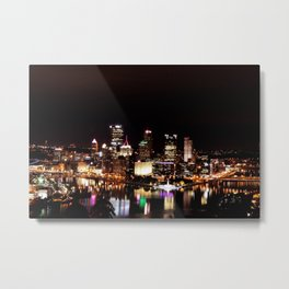 Golden Triangle Metal Print