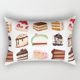 Yummy Cakes Rectangular Pillow