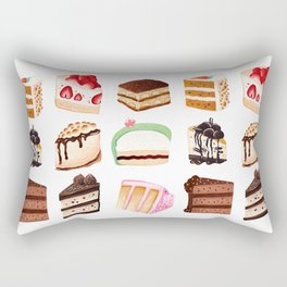 Yummy Cakes Rectangular Pillow