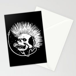 Skull Punk Stationery Cards