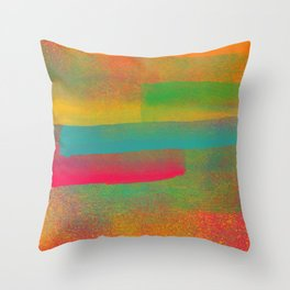 Nebulosa de Cores Throw Pillow