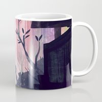 lovers Mugs featuring Lovers by youcoucou
