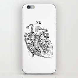 Heart of the Matter iPhone Skin