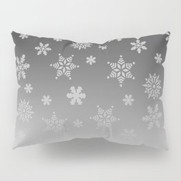 Snow Flurries Pillow Sham