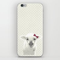 lamb iPhone & iPod Skins featuring LAMB by SUNLIGHT STUDIOS  Monika Strigel