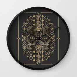Claim Your Calm Wall Clock