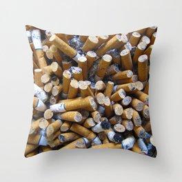 Ashes to Ashes Throw Pillow