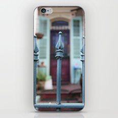 French Quarter Gate iPhone & iPod Skin