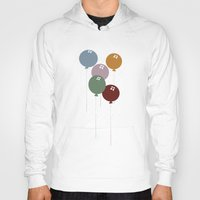 balloons Hoodies featuring Balloons by D.J.D