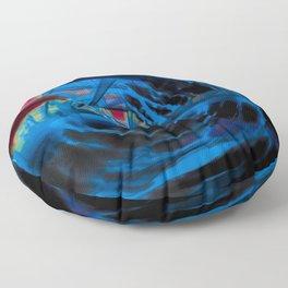 blue energy Floor Pillow