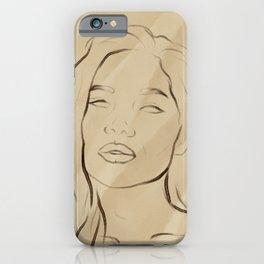 Faces III iPhone Case