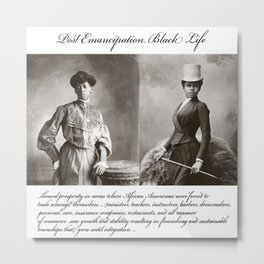 Post Emancipation Success Metal Print