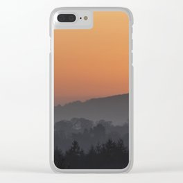 The Setting Sun Clear iPhone Case